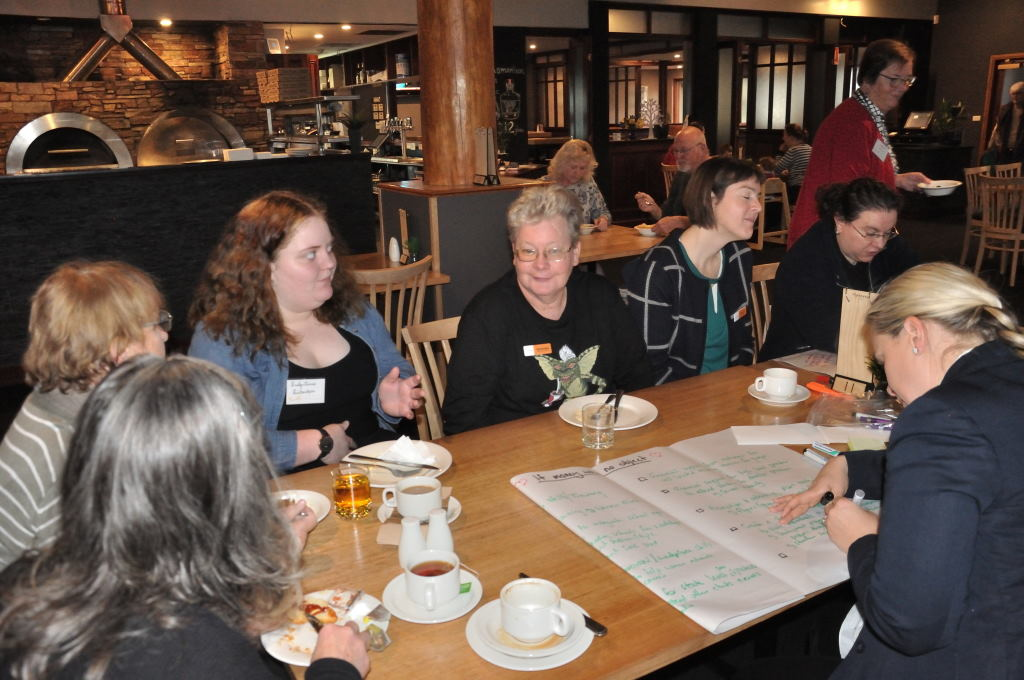 The young and new members breakfast bringing to the table new ideas and perspectives.